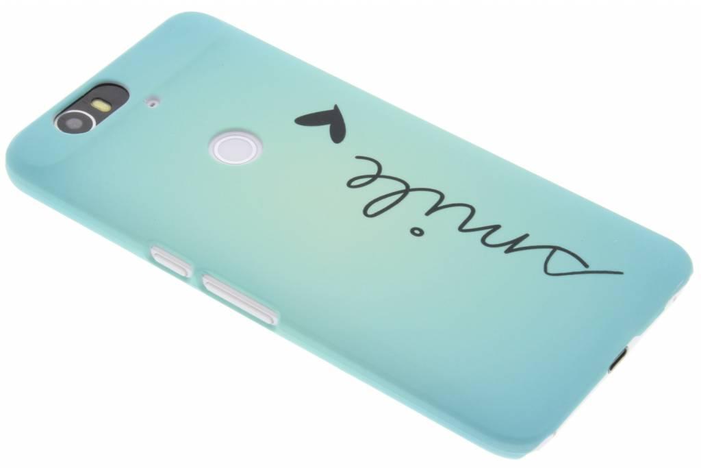 Smile design hardcase hoesje voor de Huawei Nexus 6P