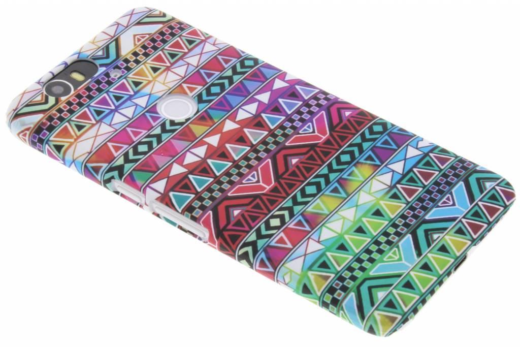 Aztec design hardcase hoesje voor de Huawei Nexus 6P