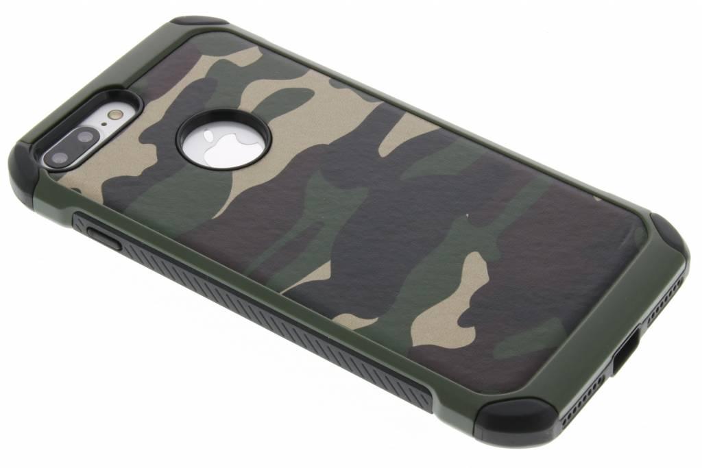 Groen army defender hardcase hoesje voor de iPhone 8 Plus / 7 Plus
