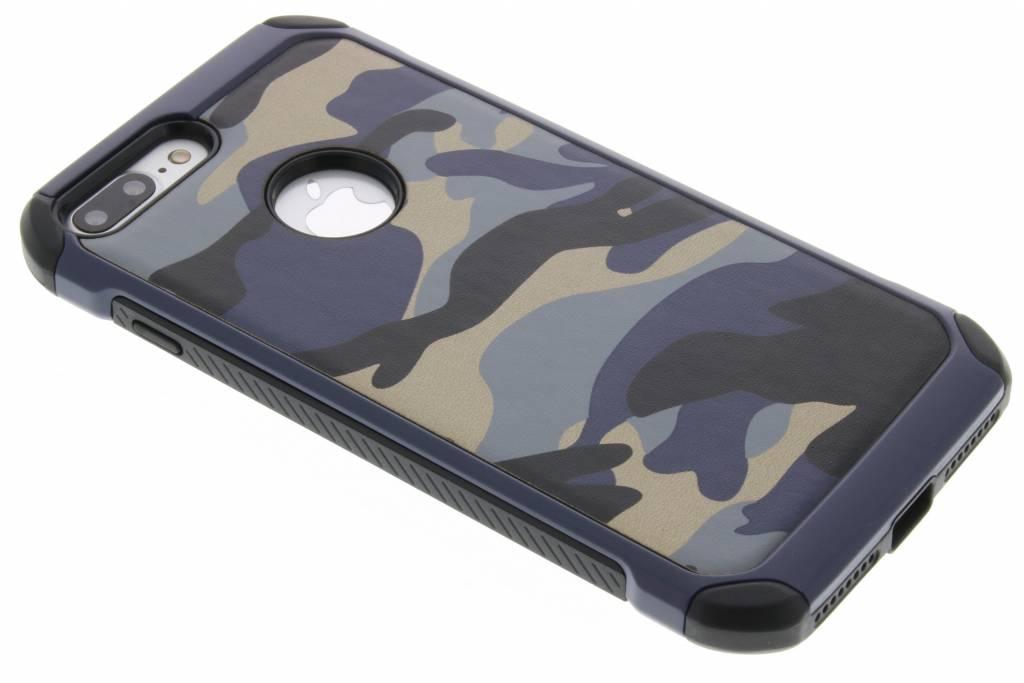 Blauw army defender hardcase hoesje voor de iPhone 8 Plus / 7 Plus