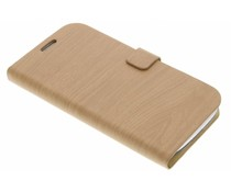 Hout design booktype Samsung Galaxy S3 / Neo