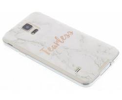 Quote design TPU hoesje Samsung Galaxy S5 (Plus) / Neo