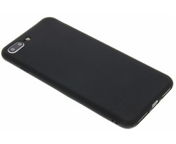 Zwart color TPU hoesje iPhone 8 Plus / 7 Plus
