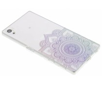 Mandala design TPU hoesje Sony Xperia Z5