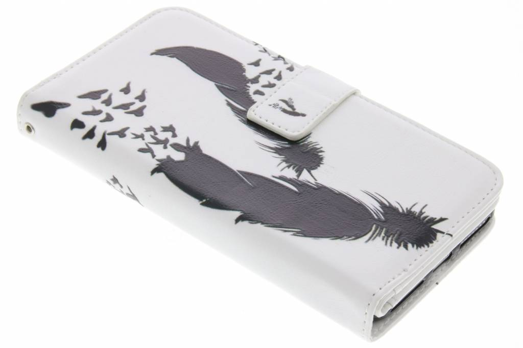 Veer design TPU portemonnee voor de iPhone 8 Plus / 7 Plus