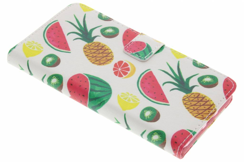 Fruit design TPU booktype hoes voor de iPhone 8 Plus / 7 Plus