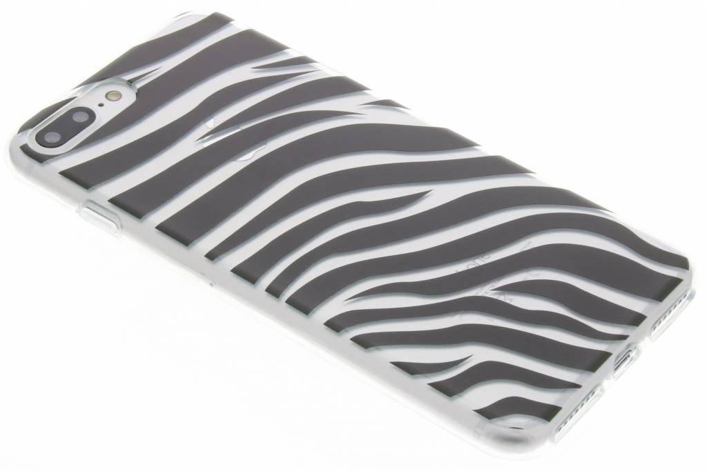 Dierenprint design Zebra TPU hoesje voor de iPhone 7 Plus