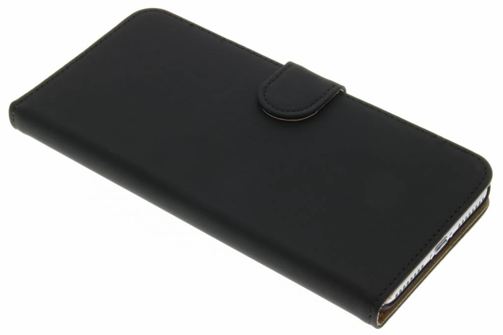 Zwarte effen booktype hoes voor de iPhone 7 Plus