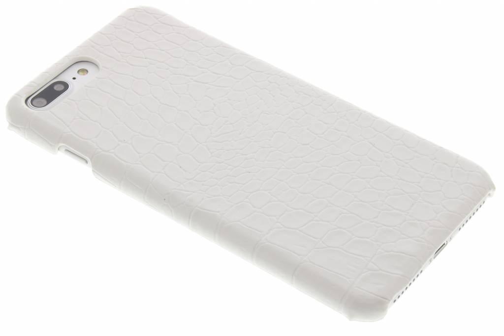 Wit krokodil design hardcase hoesje voor de iPhone 7 Plus