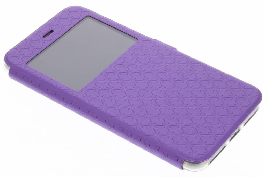 Paars Rhombus hoesje voor de iPhone 8 Plus / 7 Plus