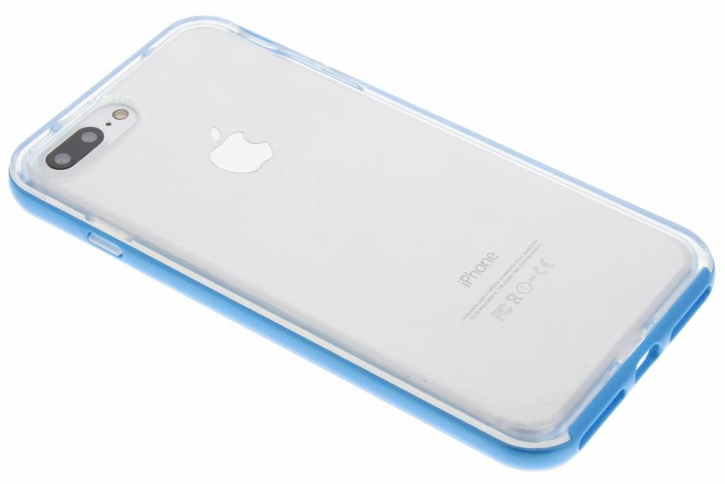 Blauwe bumper TPU case voor de iPhone 8 Plus / 7 Plus