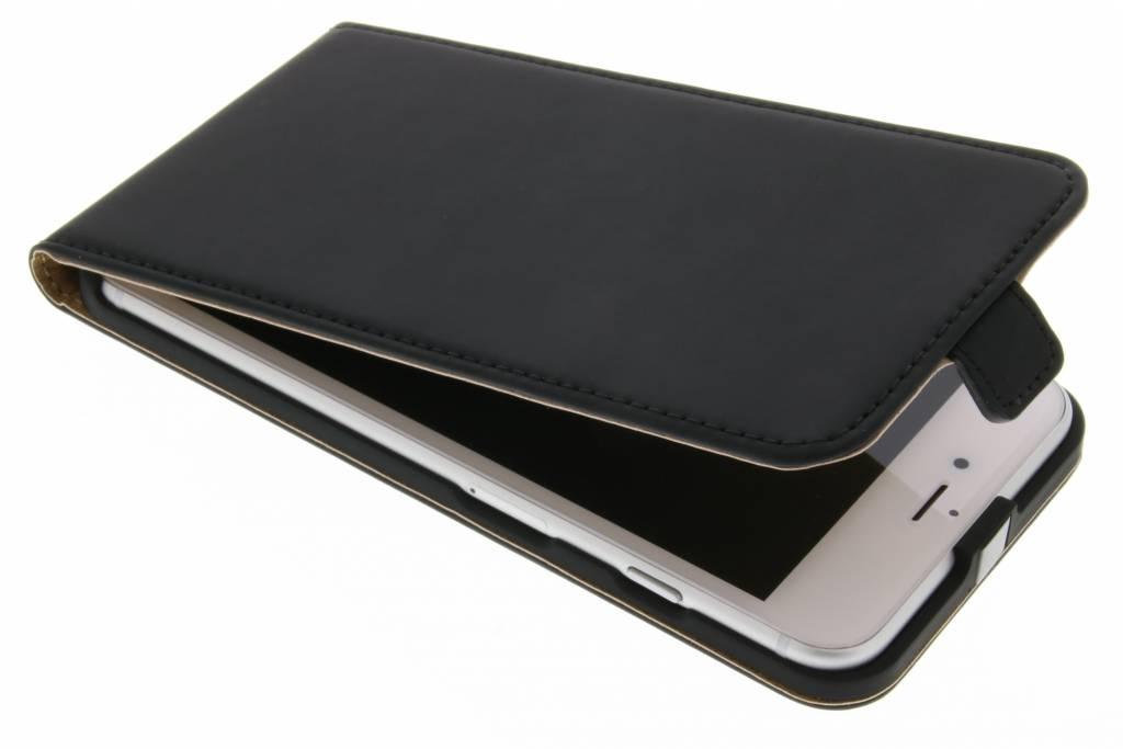 Selencia Luxe Flipcase voor de iPhone 7 Plus - Zwart