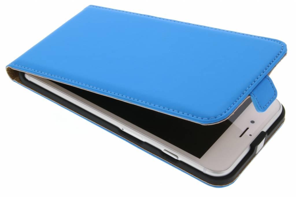 Selencia Luxe Flipcase voor de iPhone 8 Plus / 7 Plus - Blauw