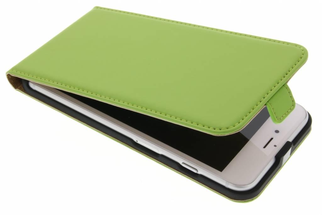 Selencia Luxe Flipcase voor de iPhone 7 Plus - Groen