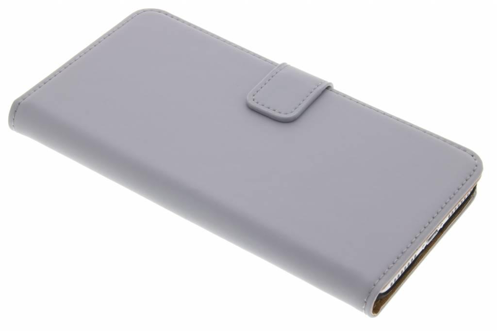 Selencia Luxe Book Case voor de iPhone 7 Plus - Grijs