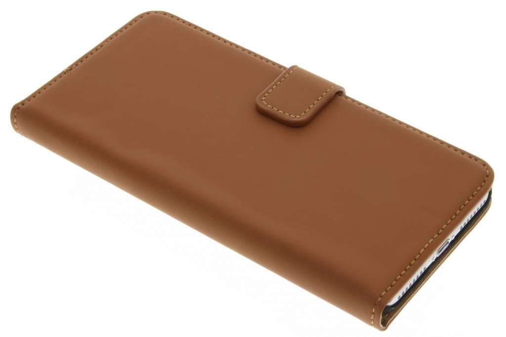 Selencia Luxe Book Case voor de iPhone 7 Plus - Bruin