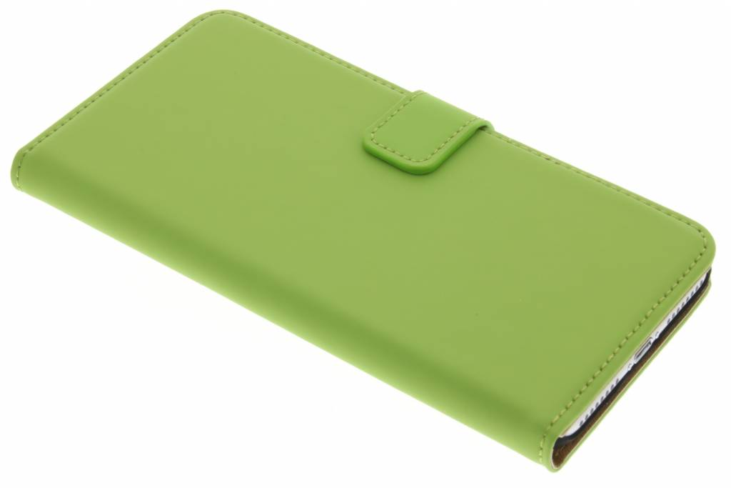 Selencia Luxe Book Case voor de iPhone 7 Plus - Groen