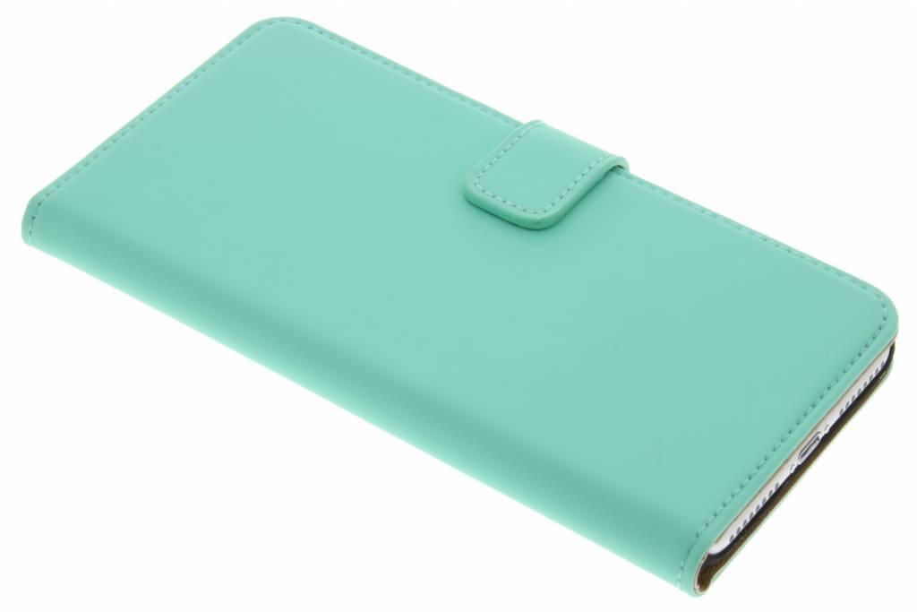 Selencia Luxe Book Case voor de iPhone 8 Plus / 7 Plus - Mintgroen