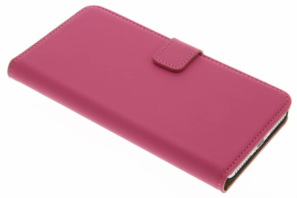 Selencia Luxe Book Case voor de iPhone 7 Plus - Fuchsia