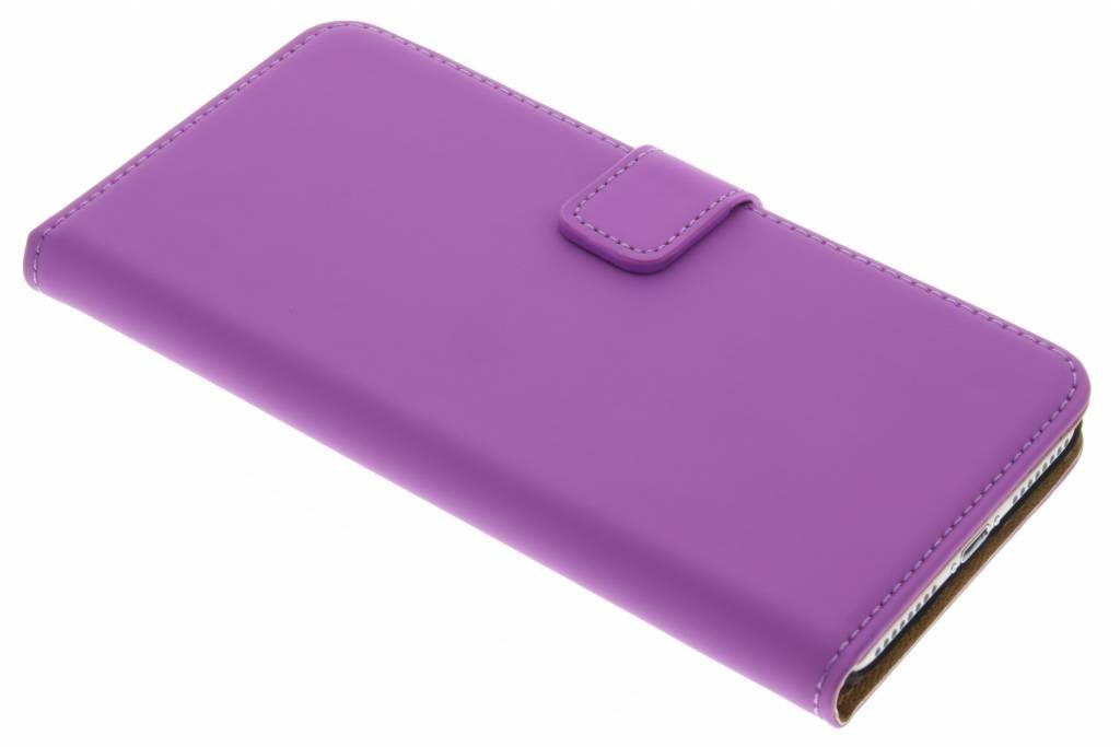 Selencia Luxe Book Case voor de iPhone 7 Plus - Paars