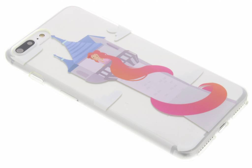 Rapunzel Sprookjes TPU siliconen hoesje voor de iPhone 7 Plus