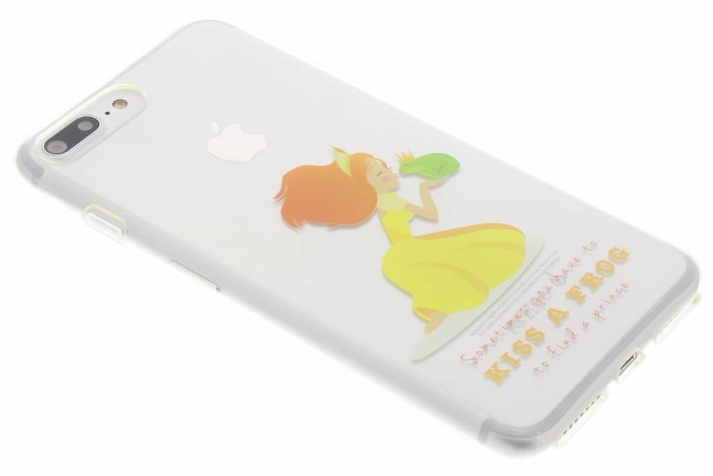 Kiss a frog Sprookjes TPU siliconen hoesje voor de iPhone 8 Plus / 7 Plus