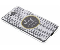 Quote design TPU hoesje Microsoft Lumia 650