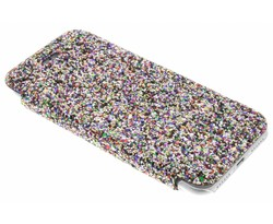 Fonex Glitter glam booktype hoes iPhone 8 / 7
