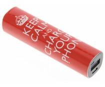 Smartoools Keep calm powerbank 2600 mAh - 2,1 Ampère