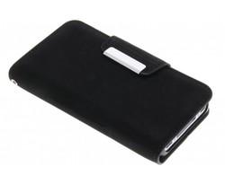 Premium suède booktype hoes iPhone 4 / 4s
