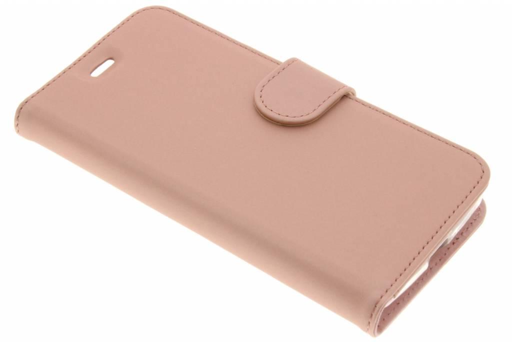 Accezz Wallet TPU Booklet voor de Acer Liquid Zest (4G) - Rose Gold
