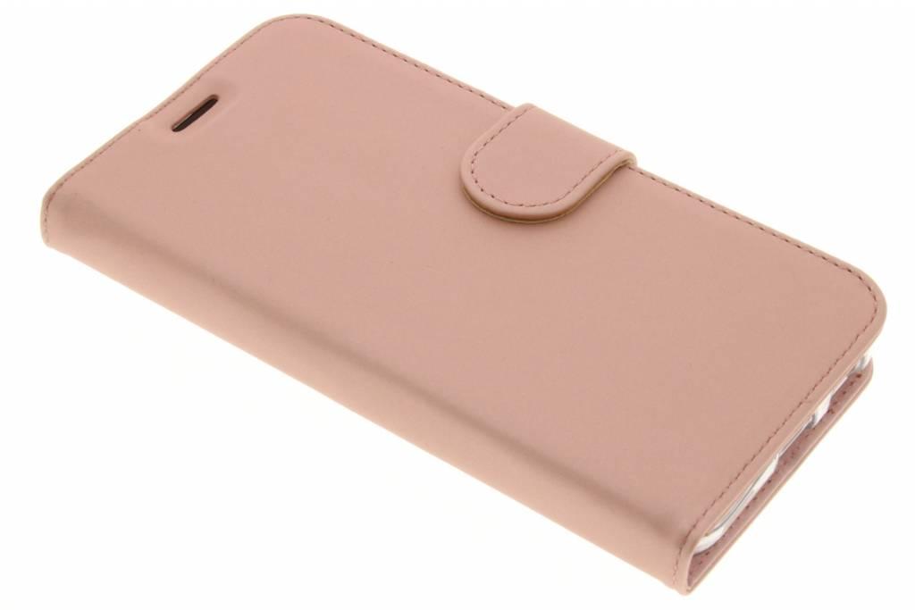 Wallet TPU Booklet voor de LG Nexus 5X - Rose Gold