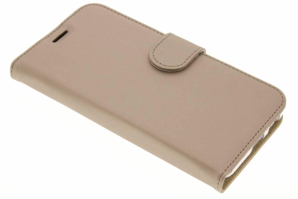 Accezz Wallet TPU Booklet  voor de LG Nexus 5X - Goud