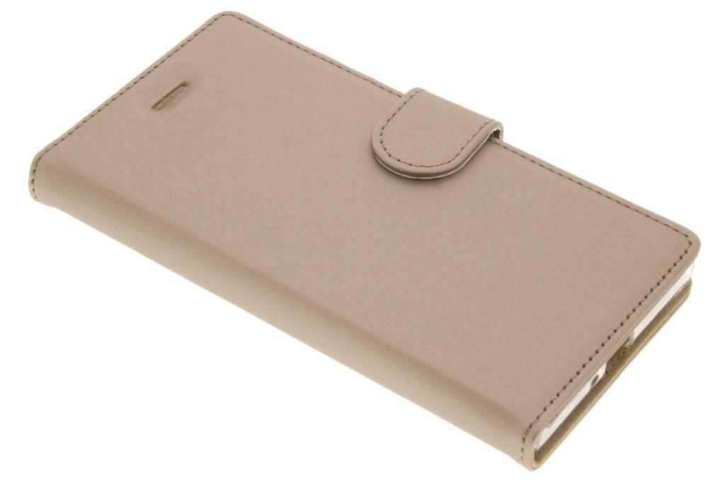 Accezz Wallet TPU Booklet voor de Sony Xperia XZ / XZs - Goud