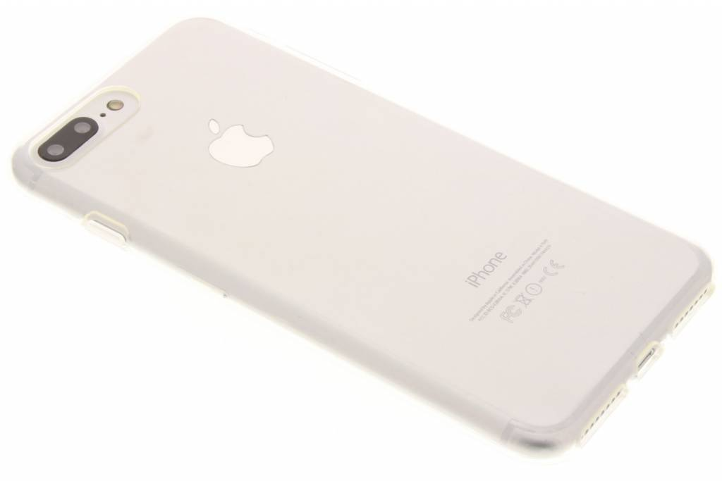 Image of TPU Clear Cover + Glass Protector voor de iPhone 7 Plus - Transparant