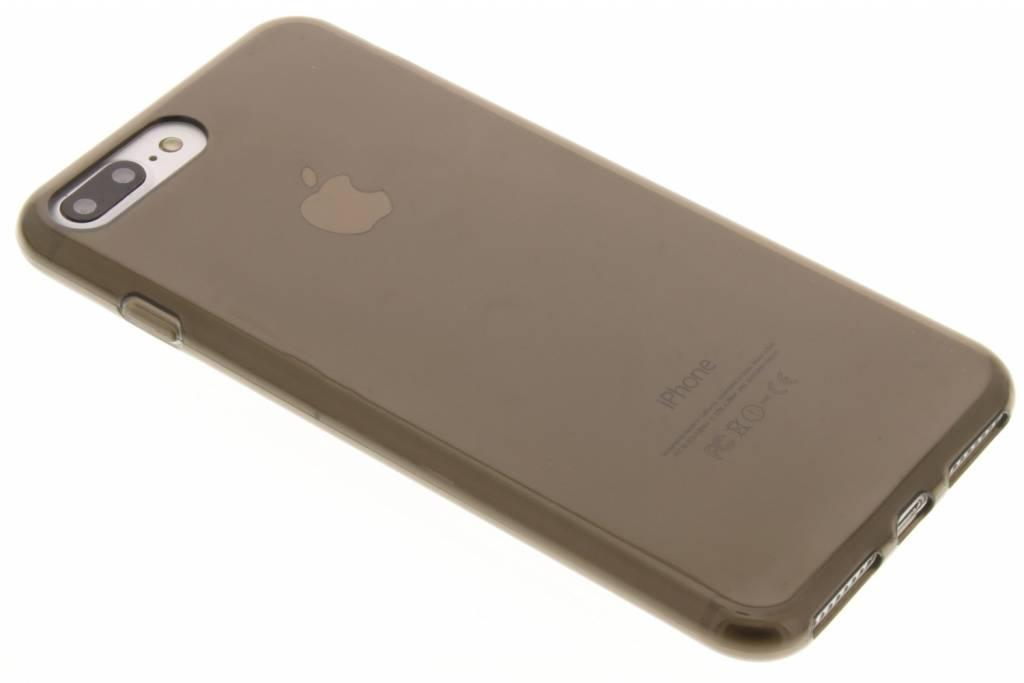 Image of TPU Clear Cover + Glass Protector voor de iPhone 7 Plus - Grijs