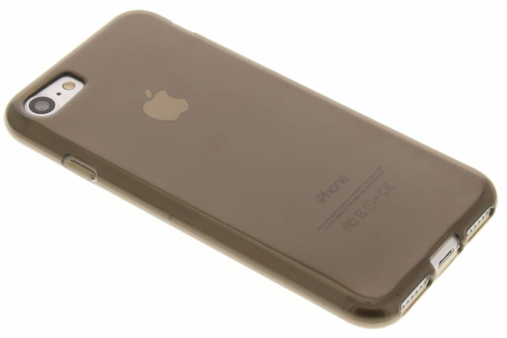 Image of TPU Clear Cover + Glass Protector voor de iPhone 7 - Grijs