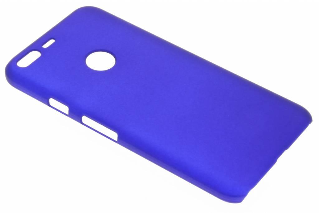 Blauw effen hardcase hoesje voor de Google Pixel