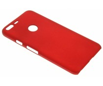Rood effen hardcase hoesje Google Pixel