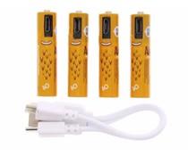 Smartoools Microbatt oplaadbare batterijen - AAA