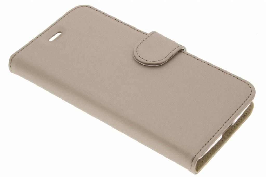 Accezz Wallet TPU Booklet voor de Acer Liquid Zest (4G) - Goud