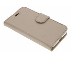 Accezz Wallet TPU Booklet Samsung Galaxy J1 (2016) - Goud