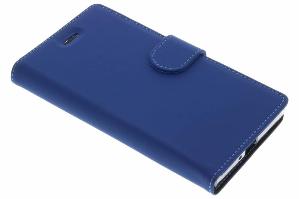Accezz Wallet TPU Booklet voor de Sony Xperia XZ / XZs - Blauw