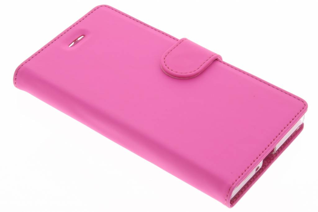 Accezz Wallet TPU Booklet voor de Sony Xperia XZ / XZs - Roze