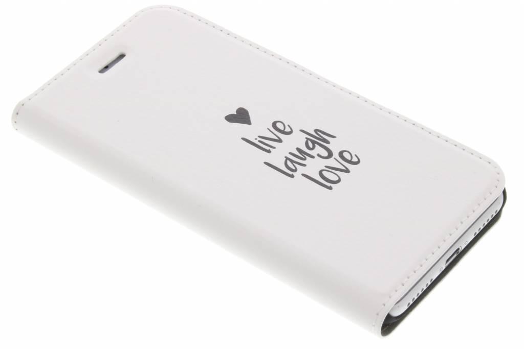 Live Laugh Love Design Booklet voor de iPhone 8 / 7