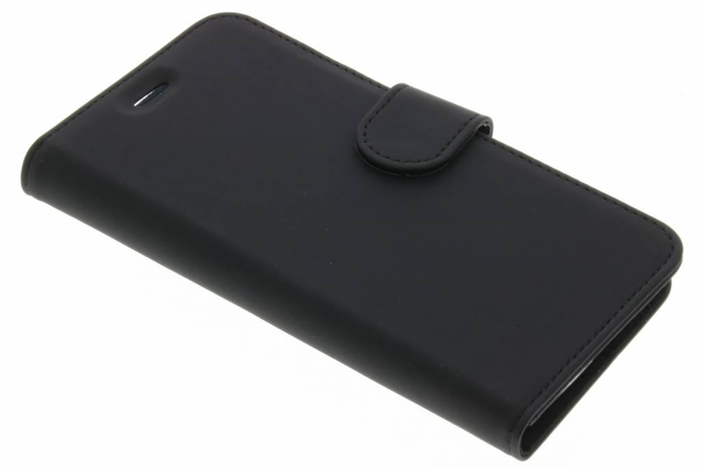 Accezz Wallet TPU Booklet voor de Acer Liquid Zest (4G) - Zwart
