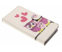 Design TPU booktype hoes Wiko Lenny 3