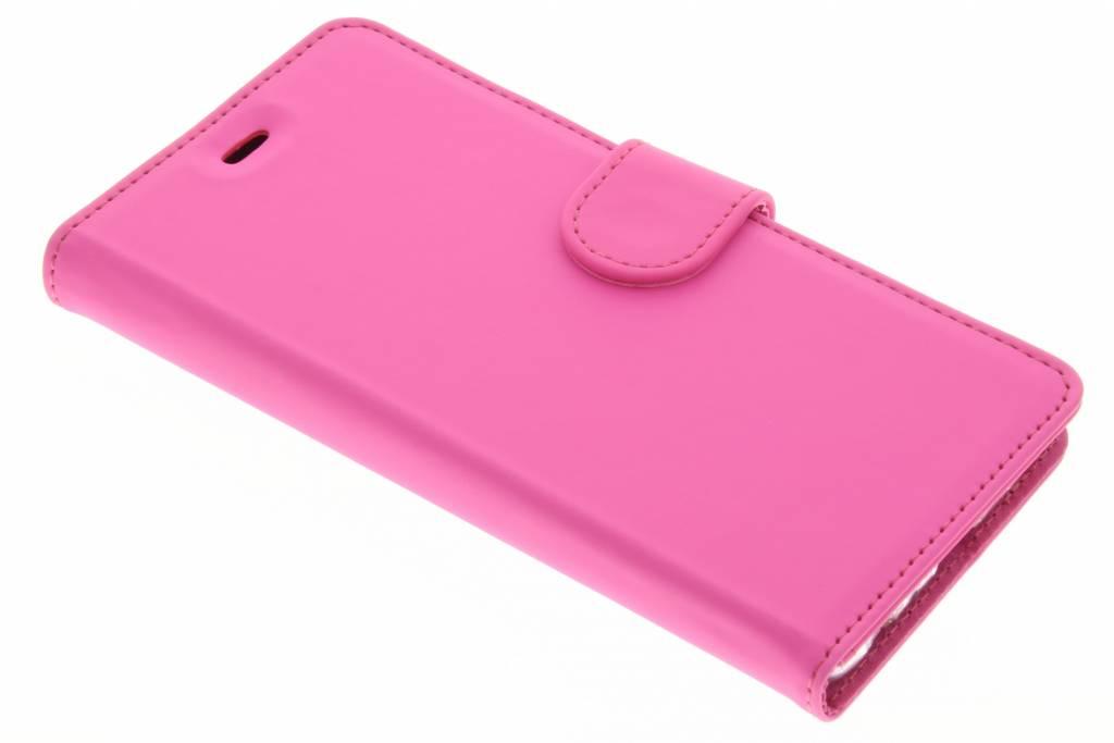 Accezz Wallet TPU Booklet voor de Huawei P9 - Roze