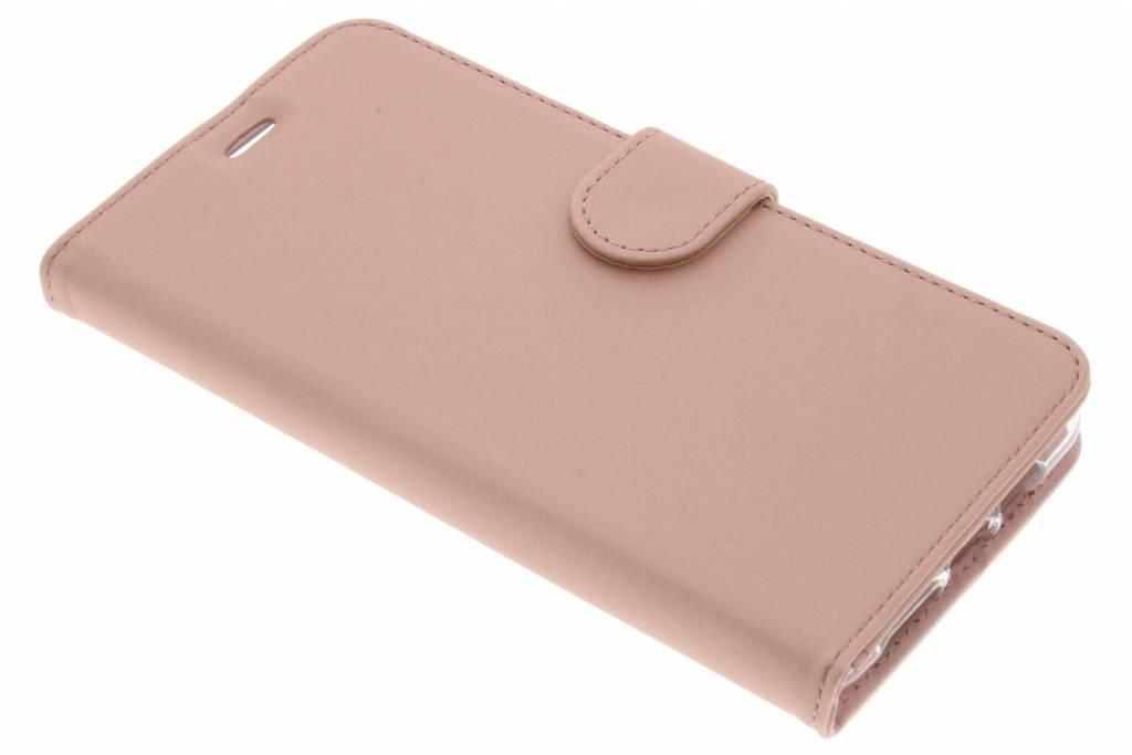Accezz Wallet TPU Booklet voor de OnePlus 3 / 3T - Rose Gold