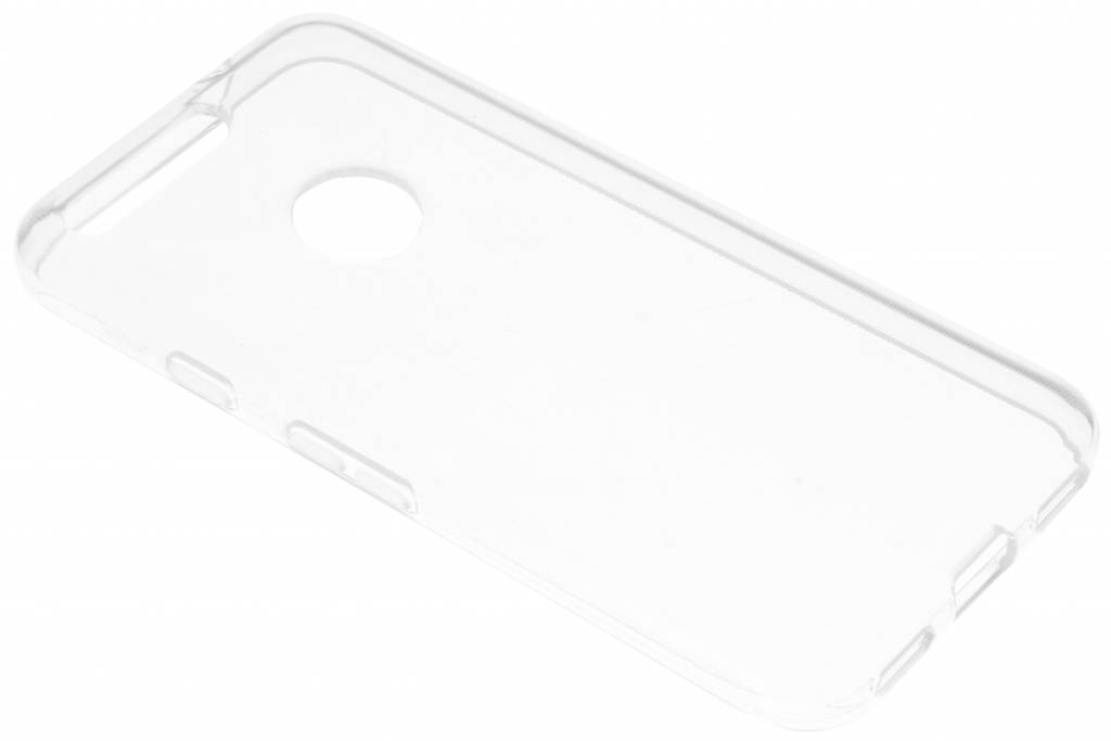 Accezz TPU Clear Cover + Glasss Protector voor de Google Pixel - Transparant
